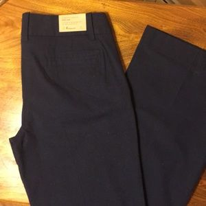 NWT Crew Navy Trousers